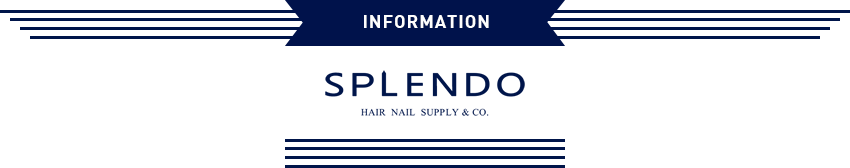 SPLENDO | SPLENDO – HAIR NAIL SUPPLY & CO.|横浜市都筑区センター南にあるヘアーサロン(美容室)、ネイル、まつげエクステのスプレンド